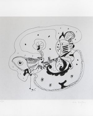 Gillo Dorfles, Ohne Titel, 1995