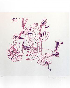 Gillo Dorfles, Ohne Titel, 1992