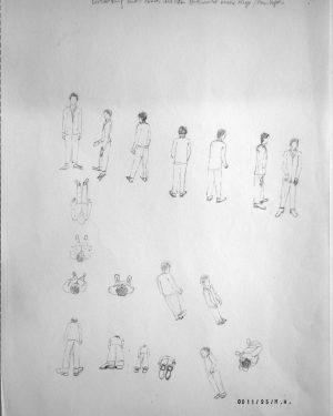 Hans Hemmert, Zeichnung 0011/95, 1995