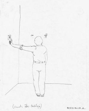 Hans Hemmert, Zeichnung 0023/94, 1994