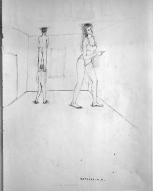 Hans Hemmert, Zeichnung 0071/94, 1994