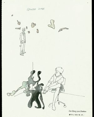 Hans Hemmert, Zeichnungen 0094/95, 1995