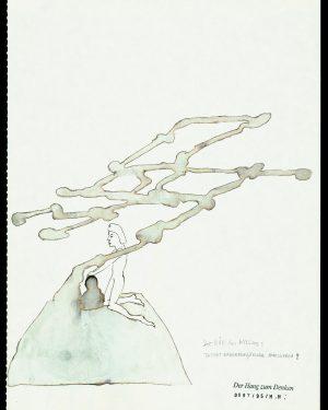 Hans Hemmert, Zeichnung 0097/95, 1995
