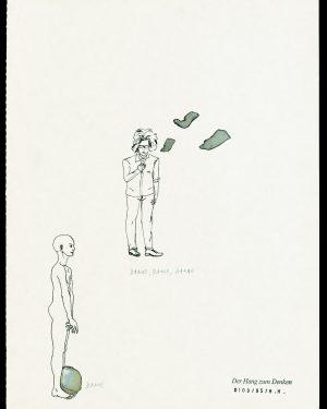 Hans Hemmert, Zeichnung 0100/95, 1995