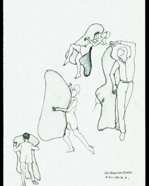Hans Hemmert, Zeichnung 0104/95, 1995