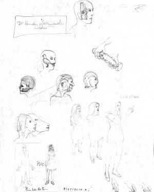 Hans Hemmert, Zeichnung 0107/94, 1994