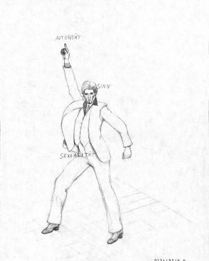 Hans Hemmert, Zeichnung 0134/95, 1995