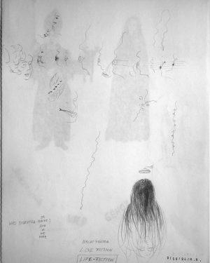 Hans Hemmert, Zeichnung 0158/94, 1994