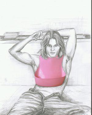 Hans Hemmert, Zeichnung 0033/03, 2003