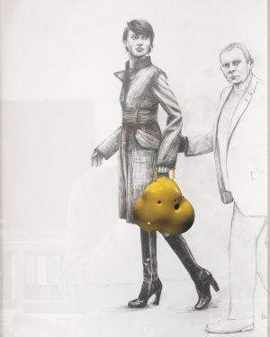 Hans Hemmert, Zeichnung 0042/03, 2003