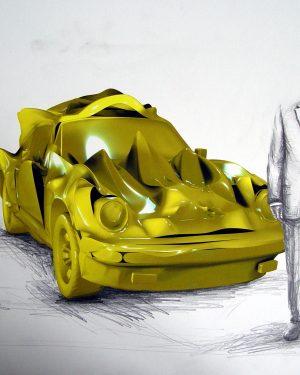 Hans Hemmert, Zeichnung 0080/05, 2005