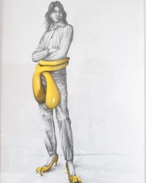 Hans Hemmert, Zeichnung 0032/03, 2003, Unikat