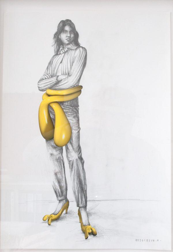 Hans Hemmert, Zeichnung