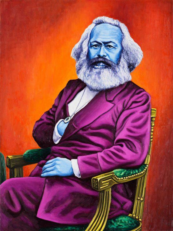 Andrea Zucchi, Karl Marx, 2012