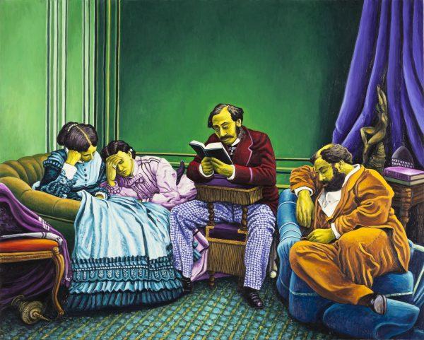 Andrea Zucchi, La lettura, 2012