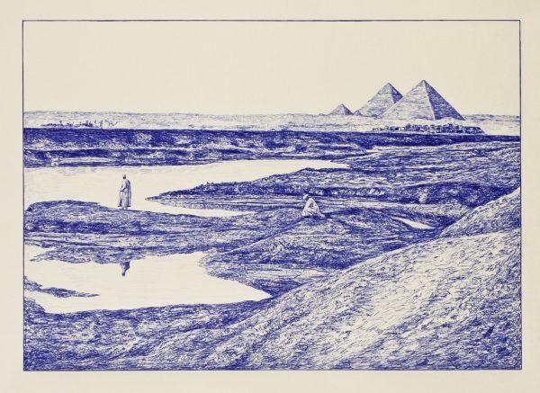 Andrea Zucchi, Le Piramidi viste da Giza, 2011