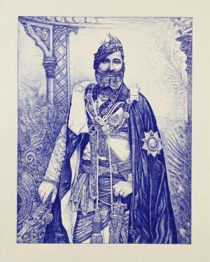 Andrea Zucchi, Pratap Singh, Maharaja di Orcha, 2011