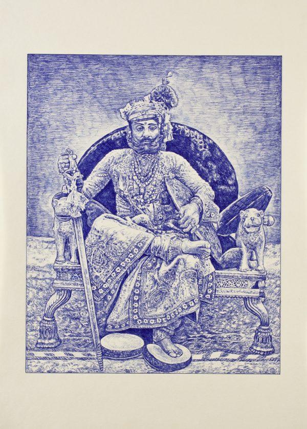 Andrea Zucchi, Takht Singh, Maharaja di Jodpur, 2010
