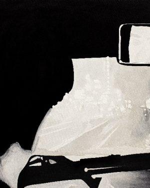 Pietro Finelli, Ne l'imagine mia II, Öl auf Leinwand, 2016