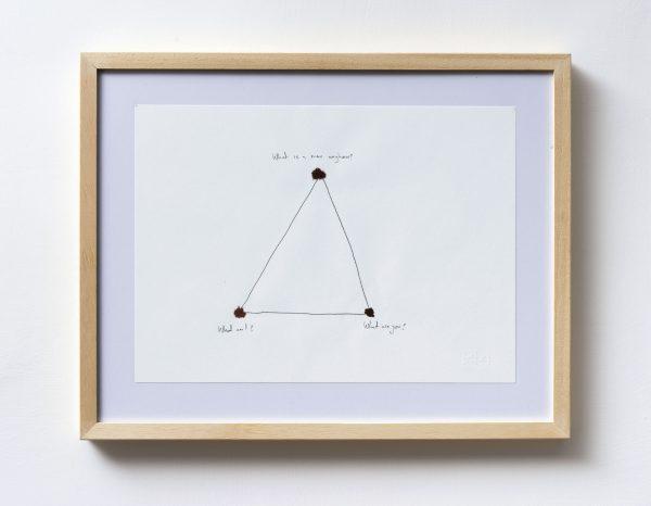 Stefan Nestoroski, A man, I, you, Zeichnung