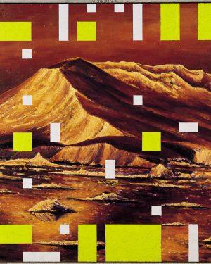 Andrea Zucchi, Quadro polare VI (Paesaggio antartico), 2000