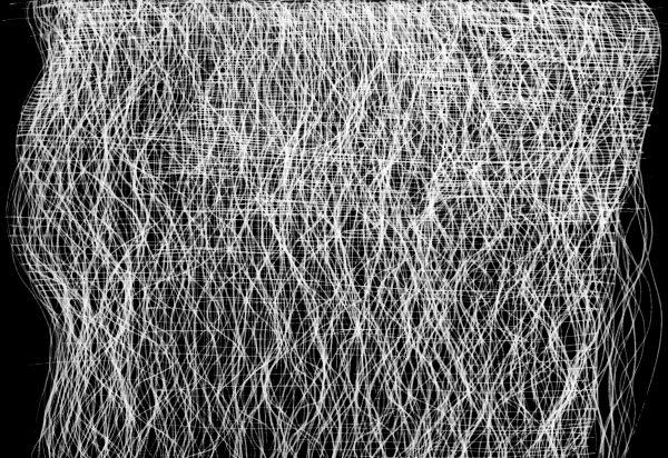 Lines and Dots 8, 2015, Original